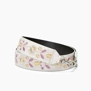 NWT Rebecca Minkoff Floral Embroidered Strap